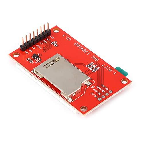 Nikou Módulo de Pantalla 128x160 Módulo de Pantalla LCD SPI TFT de 1,8 Pulgadas