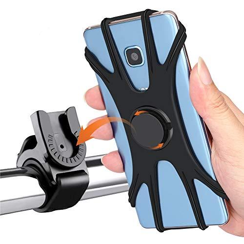 Fahrrad Handyhalterung,Abnehmbare 360° Drehbare Motorrad Handyhalter Fahrrad für 4.0 bis 6.5 Zoll Smartphones