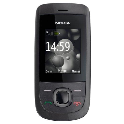 Nokia 2220 slide Cellulare (MP3, GPRS, Ovi Mail. modalità aereo), colore: Graphite [Importato da Germania]
