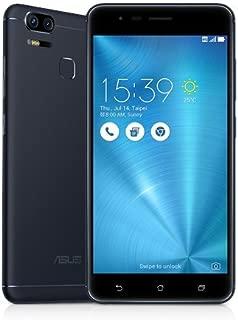 Asus ZE553KL 5.5 Inch Asus Zenfone Zoom S ZE553KL Dual SIM - 64GB, 4GB RAM, 4G LTE, Navy Black - Black