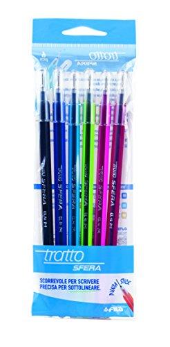 Busta 6 penne Tratto Sfera - 829000, 6 Pezzi