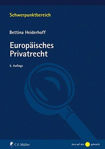 Europäisches Privatrecht (Schwerpunktbereich)