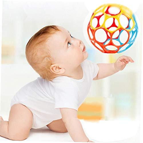 Nouveau hochets Balle Molle Point de départ Morsure de Cloche à la Main pour développer Un Jouets pour bébés Hand Ball Enfants apprennent à saisir Cadeau