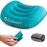 Outsmart - Almohada Inflable para Camping, Impermeable, Ligera y cómoda para Exteriores, para Senderismo, mochilero, Camping, Caza y Pesca, 78 g