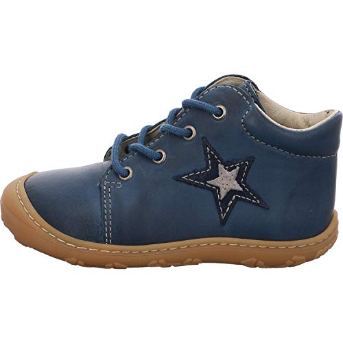 RICOSTA Jungen Lauflern Schuhe Romy von Pepino, Weite: Mittel (WMS), Kids Jungen Kinderschuhe toben Spielen verspielt Freizeit,Jeans,20 EU / 4 Child UK