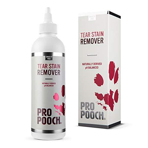 Removedor de manchas de lágrimas para perros Pro Pooch | Elimina suavemente...