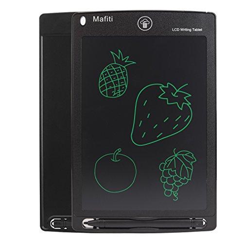 Mafiti Tablette d'criture LCD 8.5 Pouces d'criture lectronique Planche Dessin numrique Tablette Graphique de Dessin Convenant aux Enfants, la Maison, l'cole et au Bureau (Noir)