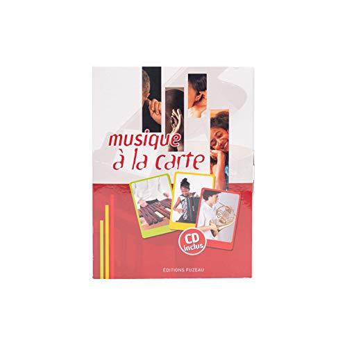 Musique à la carte (coffret 36 cartes, 3 séries, + 1 CD)