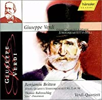 Verdi: String Quartet, Britten: String Quartet