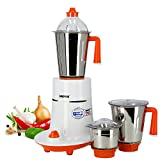 Geepas 550W 3-in-1 Mixer Grinder – Stainless Steel Jars & Blades – 3
