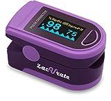 Acc U Rate Pro Series Deluxe CMS 500D - oxímetro de pulso de dedo, monitor de...