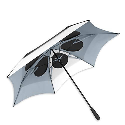 ShedRain Vortex Vent XL 68″ Golf Umbrella: Black/White/Grey