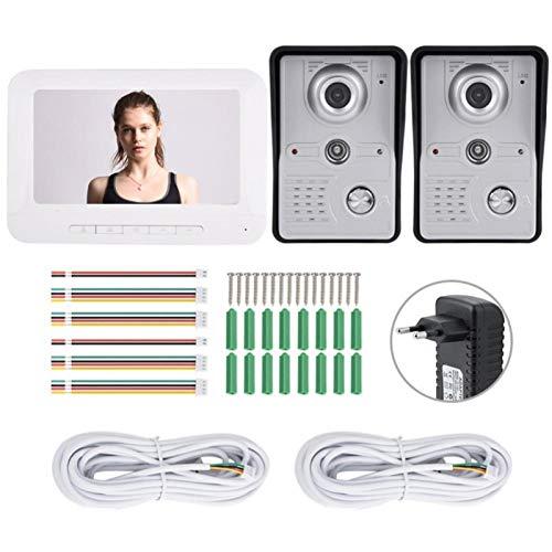 Videoportero, intercomunicador bidireccional, cámara de visión nocturna por infrarrojos, timbre, para(European regulations)