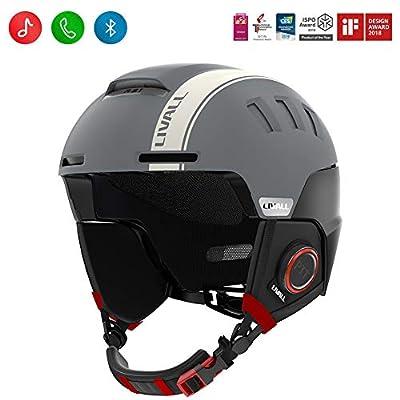 LIVALL Bluetooth Smart Ski Helmet RS1 Audio, SOS Alert, Walkie-Talkie/Push-to-Talk,for Men, Women & Youth