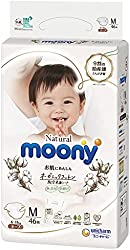 Moony Natural Tape, M, 46 Count (Packaging may vary)