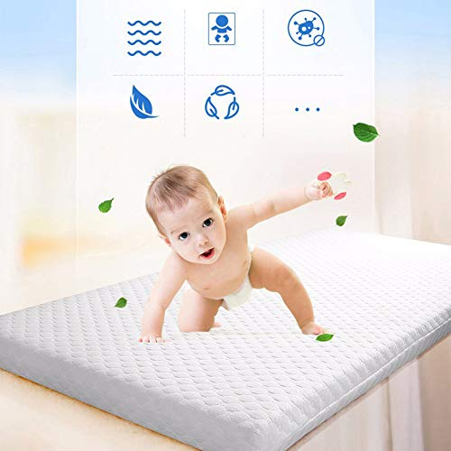 LYXCM Baby Matratze, Baby-Matratze-Natürliche Kokosnuss-Palmen-Baby-Kindermatratze 120 * 60 * 4Cm
