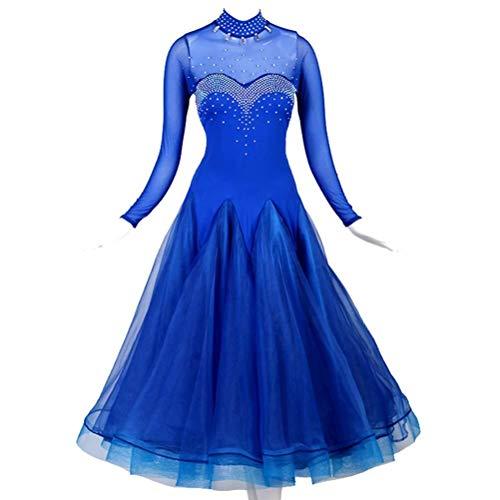 Fhxr Prom Ballroom Dans Jurk -Waltz balzaal dans balzaal dans jurk moderne dans wedstrijd kostuum