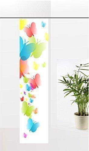 gardinen-for-life Flächenvorhang Butterfly, Schiebevorhang mit Druck-Motiv, Gr.60x260 cm Toller Frühlingsvorhang