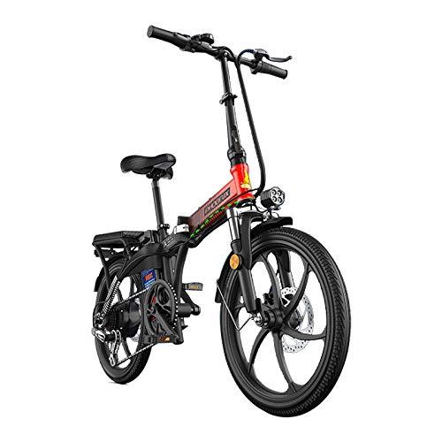 Bicicleta eléctrica Bicicleta Viajes Desplazamientos Ciudad Bicicleta de montaña Neumático grueso Plegable Adultos Mujer Joven Hombre Hombre Batería de iones de litio extraíble de gran capacidad