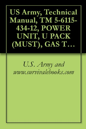 US Army, Technical Manual, TM 5 6115 434 12, POWER