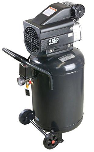 Pro-Lift-Gereedschappen compressor 2 kW luchtcompressor staand 8 bar 230 V afgegeven hoeveelheid 120 l/min werkplaatscompressor persluchtketel 50 l