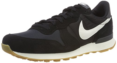 Nike Damen Internationalist Laufschuhe, Schwarz (Black/Summit White/Anthracite/Sail 021), 42 EU