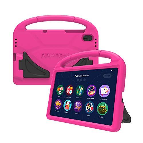 Lenovo Tab M10 HD (2nd Gen) Kid Bumper Case - Carcasa para Tablet Tab M10 HD, Color Magenta