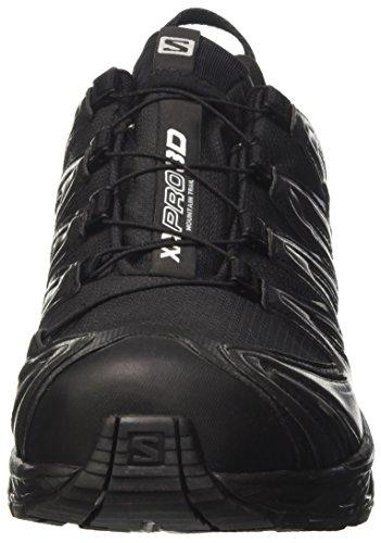 Salomon Salomon Damen XA Pro 3D GTX Traillaufschuhe, Schwarz (Black/Asphalt/Light Onix), 38 2/3 EU