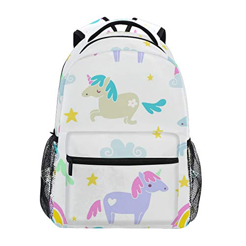 Cute Unicorn Backpack BookBag for Boys Girls Elementary School 2021800
