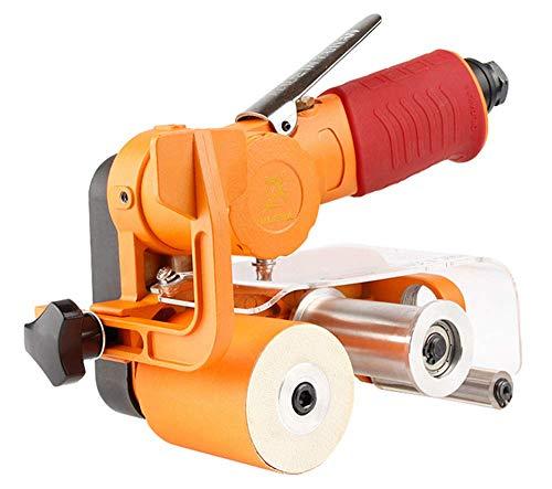 BANANAJOY Abrasive, 60 x 260mm Air Belt Sander Sandpaper 10000rpm Protable Pneumatic Wire Drawing Machine Polishing Sanding Grinder Polisher Polishing,