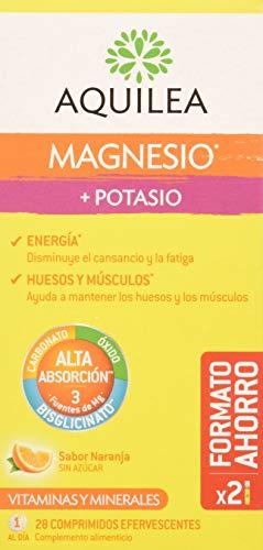 Aquilea Magnesio + Potasio, 28 Comprimidos Eferv
