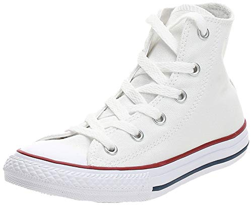 Converse Chuck Taylor All Star, Unisex-Kinder Hohe Sneakers, Weiß (Optical White), 33 EU