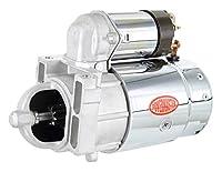 Powermaster Performance 13655 クローム オルタネーター (10MT キャスト アルミ DE Pont & Olds V8 1965-81 ect.301)