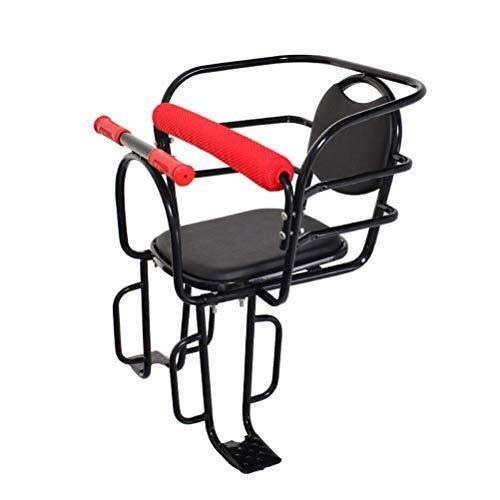 Buy Electric Bicycle Child Rear Seat, Bike Baby Safety Thicken Seat with Armrest and Pedal for Child...