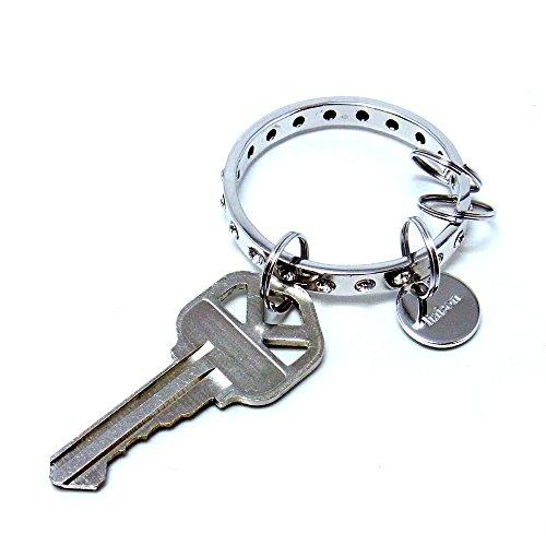 スワロフスキー エターナル キーホルダー シルバー Eternal Key holder
