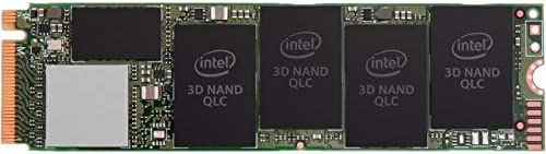 Intel 660p 1TB m 2 2280 PCIe Encrypted Internal SSD SSDPEKNW010T8X1 product image