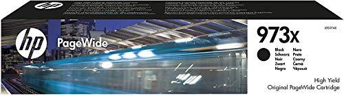 HP 973X L0S07AE Cartuccia Originale da 10000 Pagine, ad Alta Capacità, Compatibile con le Stampanti HP Pagewide Serie Pro 452, 477dw e PageWide Managed P57750dw, P55250dw, Nero