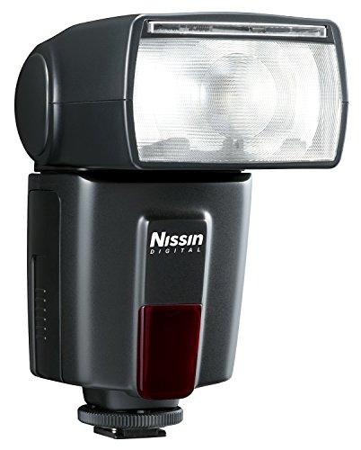 Nissin DI600 - Flash para Canon, Color Negro