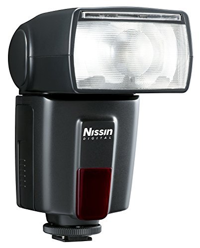 Nissin DI600 - Flash para Canon, Color Negro