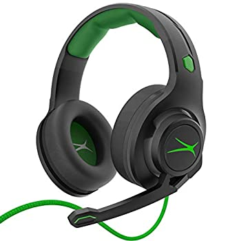 Premier Accessory Group Gaming Headset Stereo Headphones Altec Lansing Game Headphone Noise Cancelling Mic AL2000 Xbox Green Standard