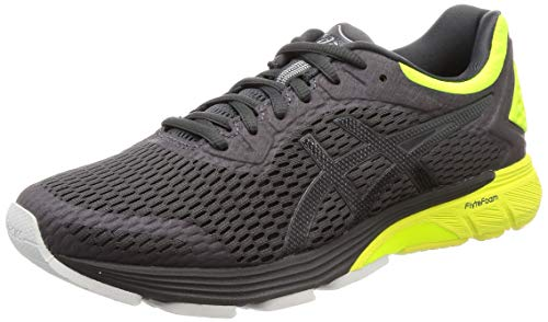 ASICS Herren GT-4000 Laufschuhe, Grau (Dark Grey/Safety Yellow 020), 42.5 EU
