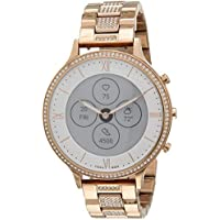 Fossil Women's 42MM Charter Heart Rate Stainless Steel Hybrid Smartwatch