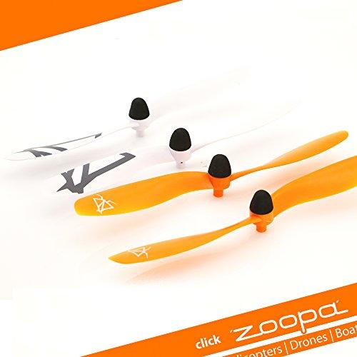 zoopa Acme - Ersatzrotorblätter für Quadrokopter Q 600 Mantis (ZQ0600-C)