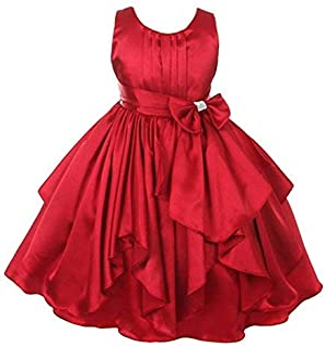 41dc1bc999 Satin Girls' Dresses: Buy Satin Girls' Dresses online at best prices ...