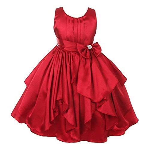 7869e07b101f Red Frock for Kids  Buy Red Frock for Kids Online at Best Prices in ...