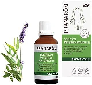 Pranarôm | Aromaforce | Solution Défenses Naturelles Bio aux 10 Huiles Essentielles | Désinfecte | Assainit | Renforce l'I...