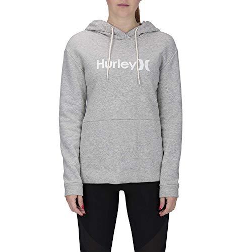Hurley Damen Shorts W ONE&ONLY Fleece Pullover, dk Grey Heather, M, AJ3609