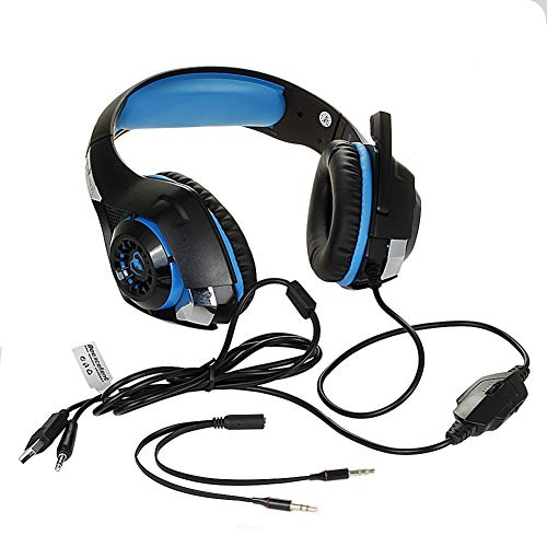 Kousa Headphones Gm-1beexcellent Computer Gaming Headset Single Hole Notebook with Microphone PS4t