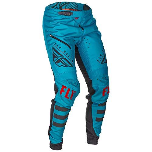 Fly Racing Kinetic - Pantalones de ciclismo, 30, Azul / negro