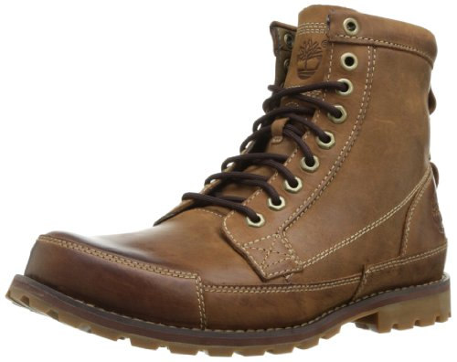"Timberland Men's Earthkeepers 6"" Lace-Up Boot, Burnished Brown, 9.5 M US"